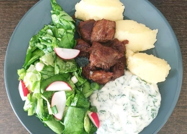 Friptura de porc suculenta (la tigaie)